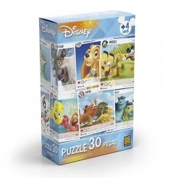 Quebra Cabeça Disney - 30 Peças - Grow
