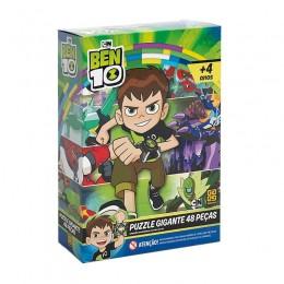 Quebra-Cabeça Gigante - Ben 10 - 48 peças - Grow