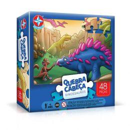 Quebra-Cabeça Grandão Dinossauros 48 peças - Estrela