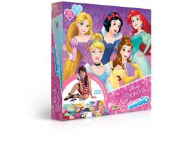 Quebra-Cabeça Grandão - Princesa Disney - 48 Peças - Toyster