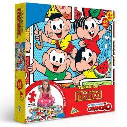 Quebra-Cabeça Grandão - Turma da Mônica - 48 peças - Toyster