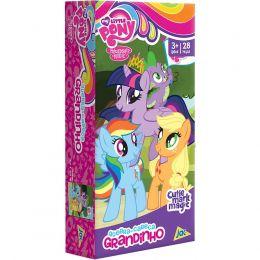 Quebra-Cabeça Grandinho - My Little Pony - 28 peças - Toyster