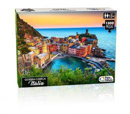 Quebra-Cabeça - Itália - 1000 peças - Pais e Filhos