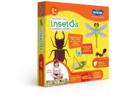 Quebra-Cabeça - Mundo dos Insetos - 120 Peças - Toyster