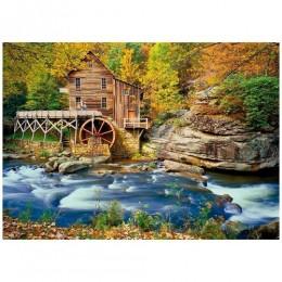 Quebra-Cabeça - Outono na América - 1000 Peças - Grow
