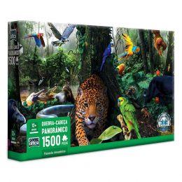 Quebra-Cabeça - Panorâmico - Floresta Amazônica - 1500 Peças - Toyster