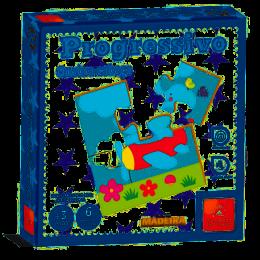 Quebra-Cabeça Progressivo - 4,6,9 e 12 peças - Brincadeira de Criança