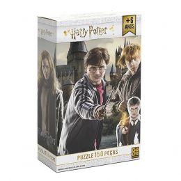Quebra-Cabeça Harry Potter - 150 Peças - Grow