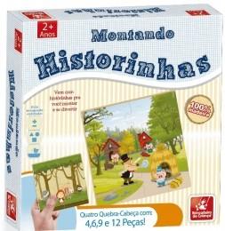 Quebra-Cabeças - Montando Historinhas - Brincadeira de Criança