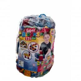 Super Blocks - 334 Peças - Peças Médias - World Blocks