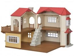 Sylvanian Families - Casa do Telhado Vermelho - Epoch