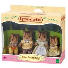 Sylvanian Families - Família dos Esquilos Noz  - Epoch