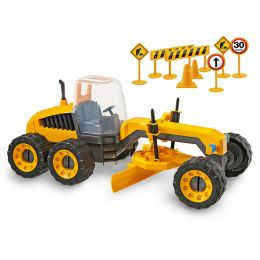 Trator de Terraplanagem - Plainer - Construction Machine - Usual Brinquedos