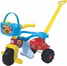 Triciclo Infantil - Pic Nic - Tico-Tico - Azul - Magic Toys