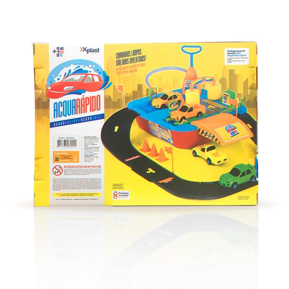 Acqua Rápido - Lava Rápido Infantil - Xplast Brinquedos