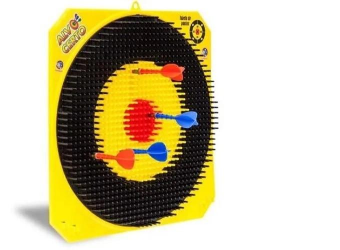 Jogo de Dardo - Alvo Certo - Cardoso Brinquedos