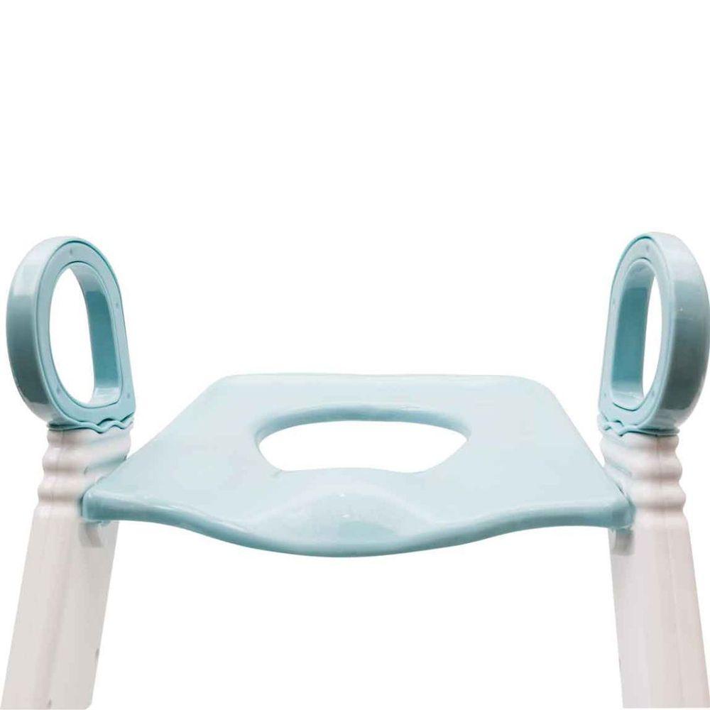 Assento Redutor com Escada - Azul - Buba