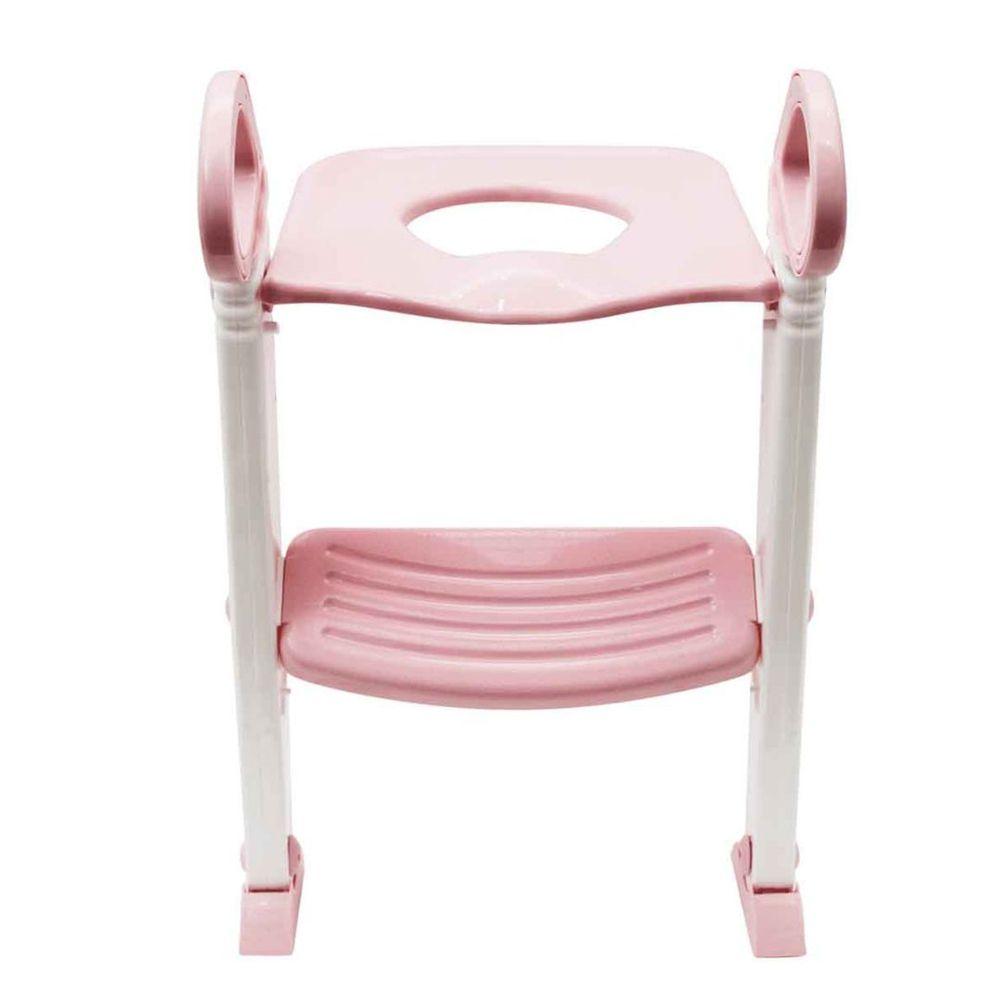 Assento Redutor com Escada - Rosa - Buba