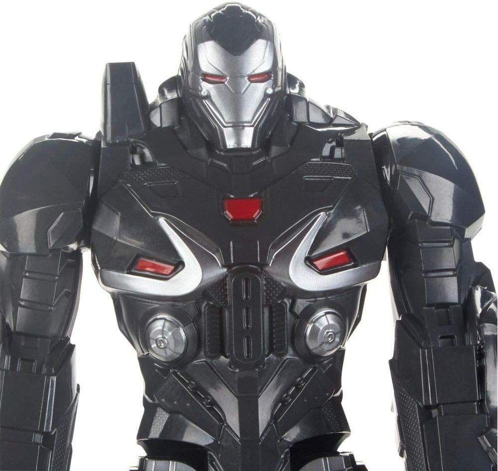 Boneco Vingadores Máquina de Combate - Deluxe Power Fx 2.0 - Hasbro