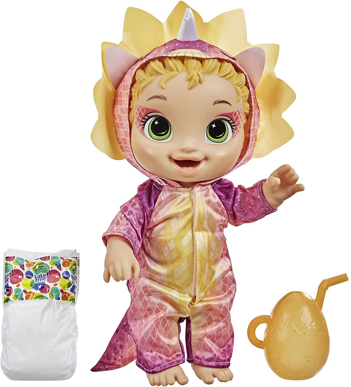 Baby Alive Bebessauro - Dino Cuties - Loira - Hasbro