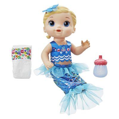 Boneca Baby Alive - Minha Linda Sereia - Loira - Hasbro