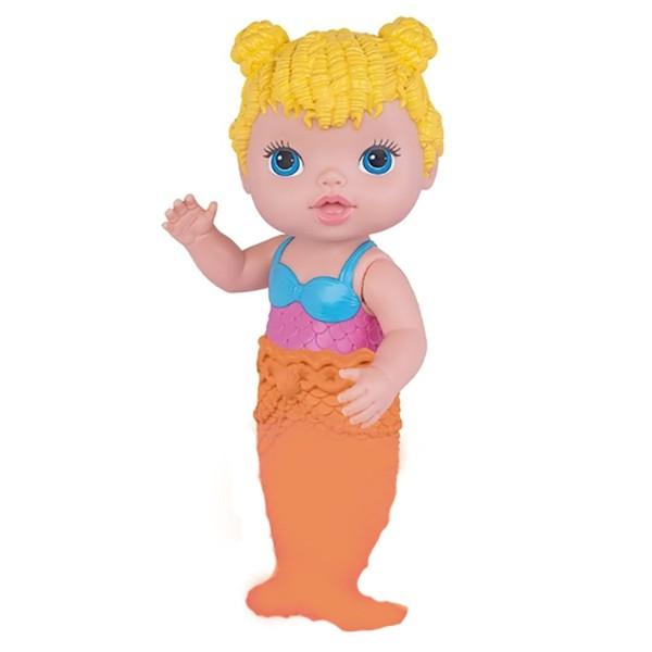 Boneca Baby's Collection - Minha Sereia - Loira - Super Toys