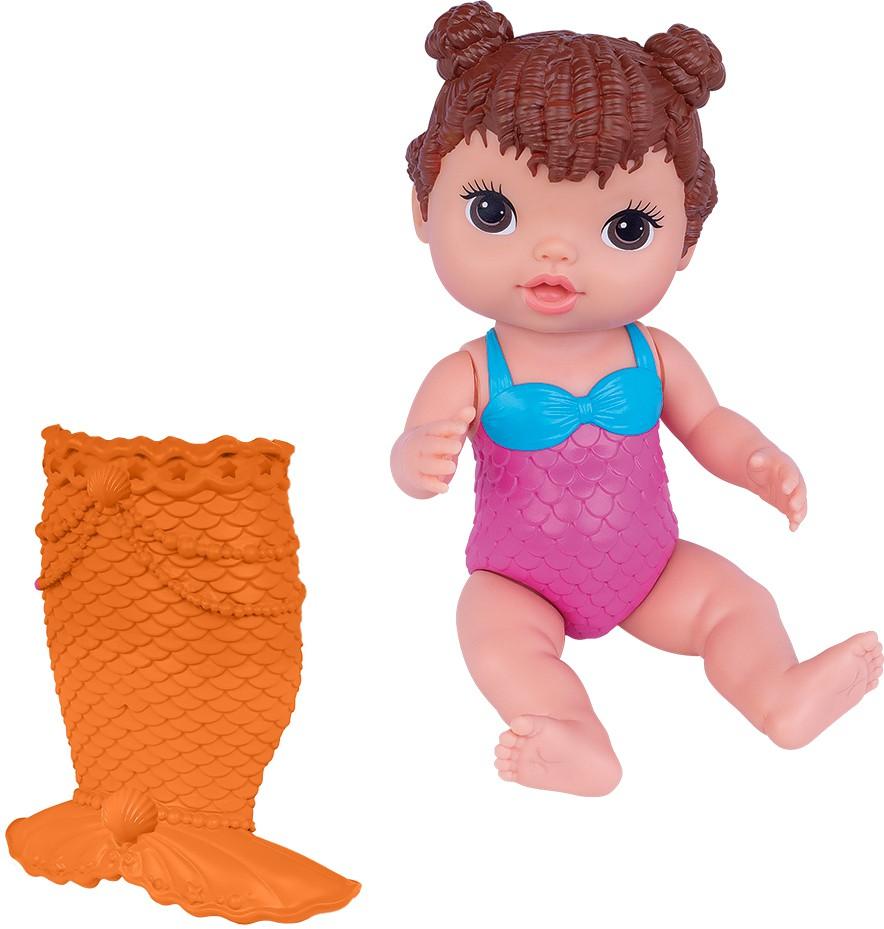 Boneca Baby's Collection - Minha Sereia - Morena - Super Toys