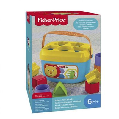 Baldinho Primeiros Blocos - Fisher Price
