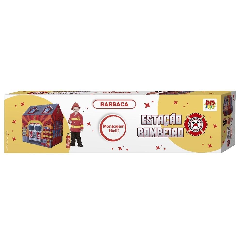 Barraca Estação de Bombeiro - DM Toys