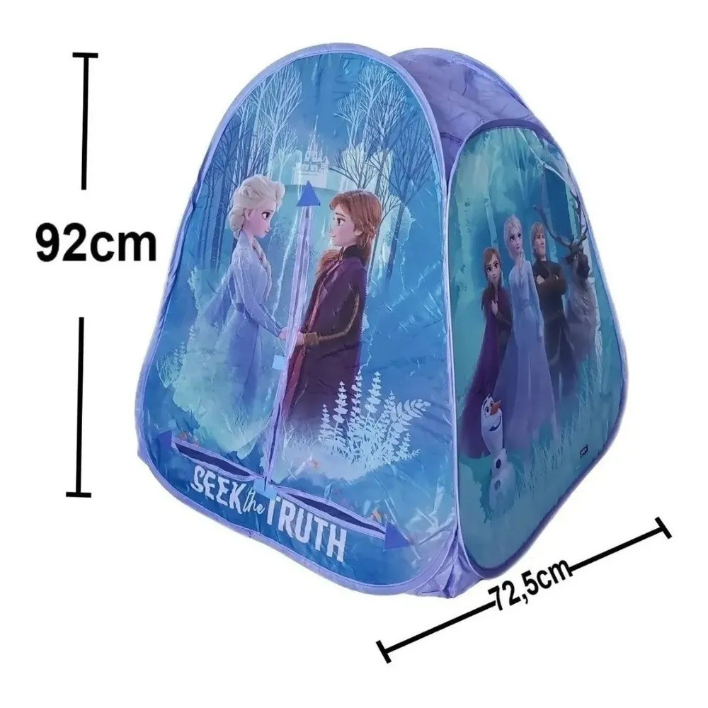 Barraca Infantil Portátil - Frozen 2 - Zippy Toys