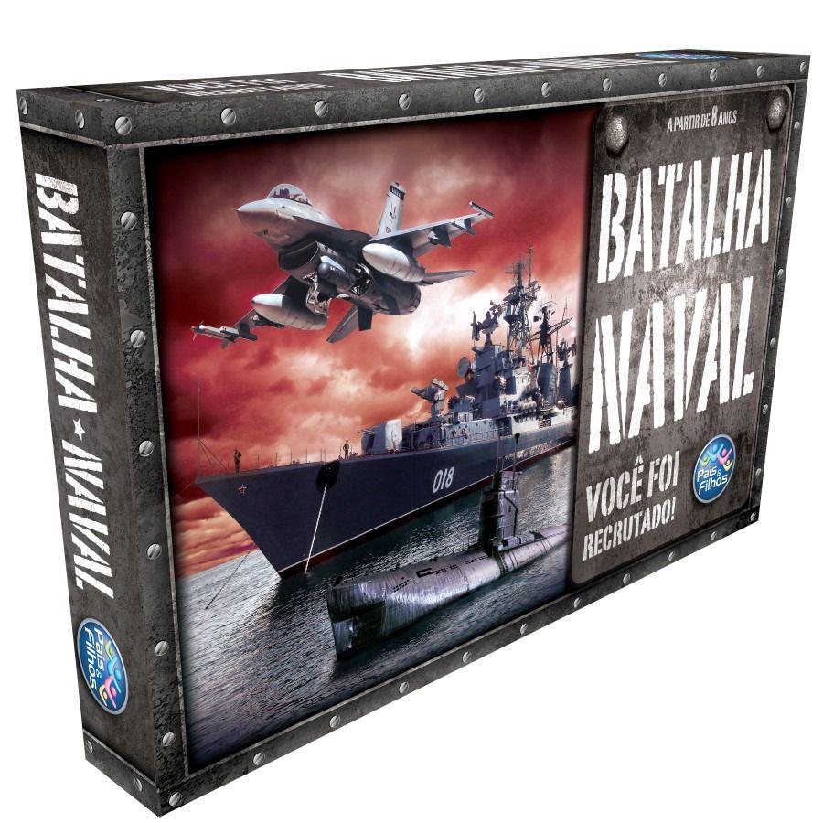 Batalha Naval - Você foi Recrutado - Pais e Filhos