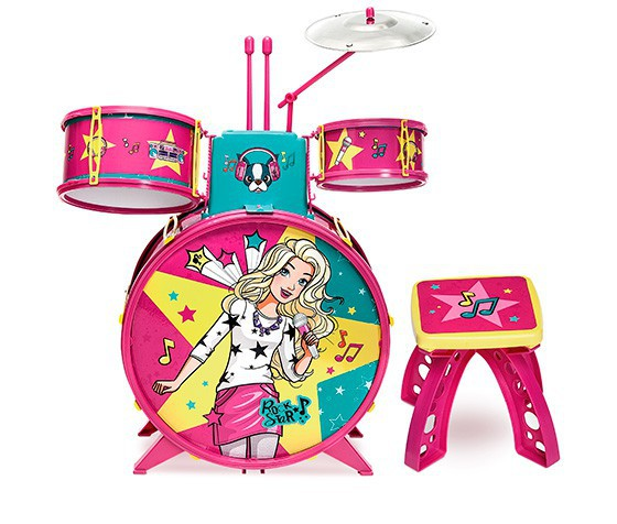 Bateria Fabulosa - Barbie - Fun