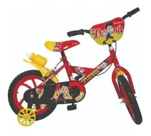 Bicicleta Aro 14 - Bike Da Turma - Vermelho - Unitoys