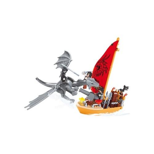 Blocos de Encaixar - Fuga Pirata - Xalingo