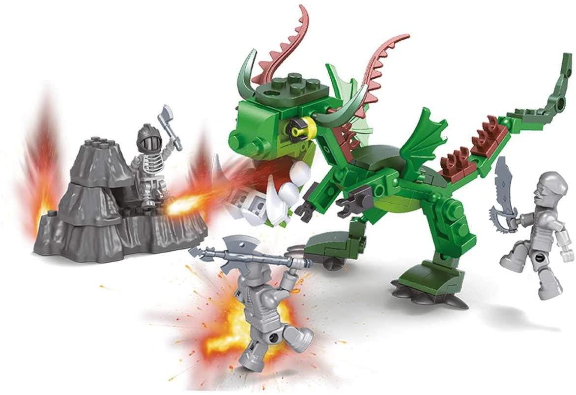 Blocos de Montar - Ataque do Dragão - 135 Peças - Xalingo