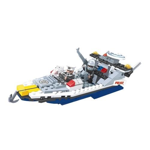 Blocos de Montar - Defensores Da Ordem - Escolta Naval - 215 Peças - Xalingo