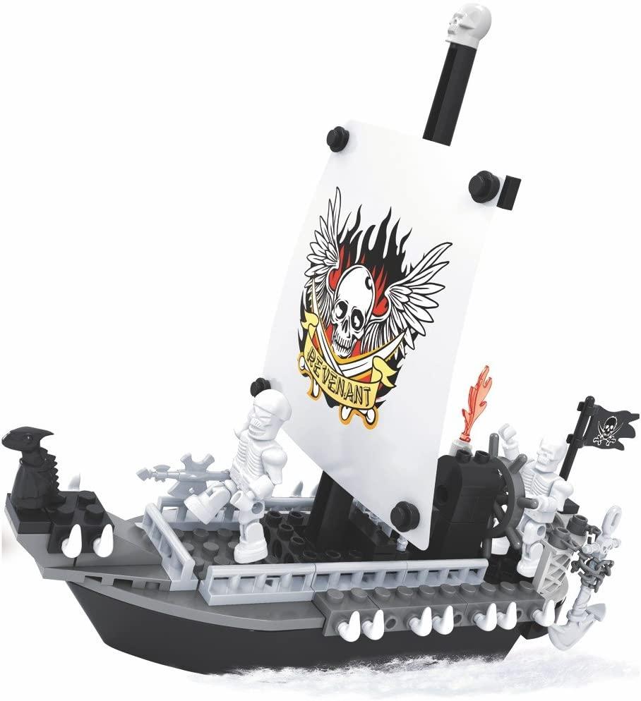 Blocos de Montar - Pirata Navio - 129 Peças - Xalingo