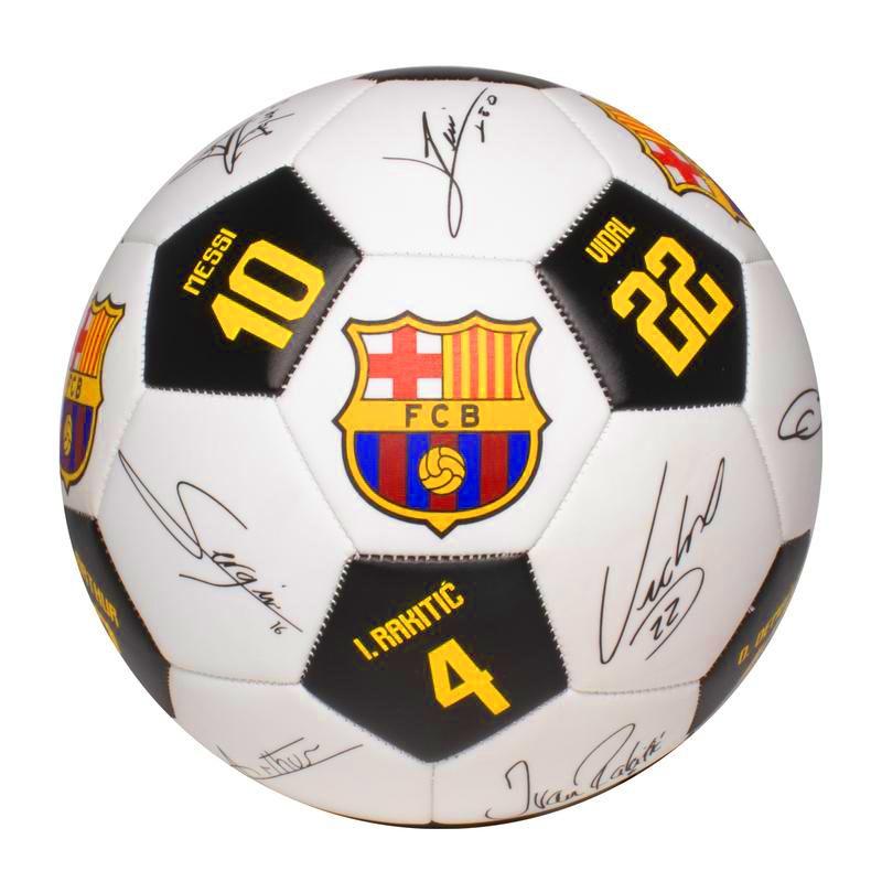 Bola de Futebol - Barcelona - Assinaturas - Número 5 - Futebol e Magia