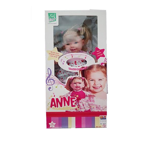 Boneca Anne - Cante Comigo  - Super Toys