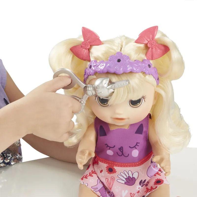 Boneca Baby Alive - Corte de Cabelo - Loira - Hasbro