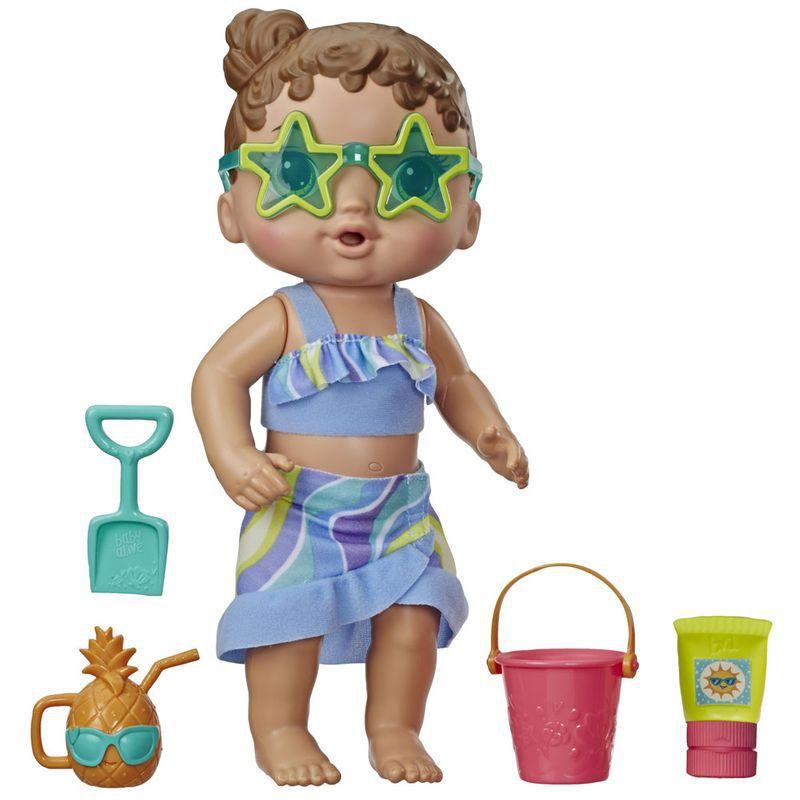 Boneca Baby Alive - Sol e Areia - Morena - Hasbro