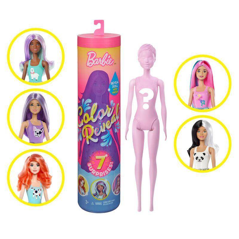 Boneca Barbie - Barbie Estilos Surpresa - Color Reveal - Mattel