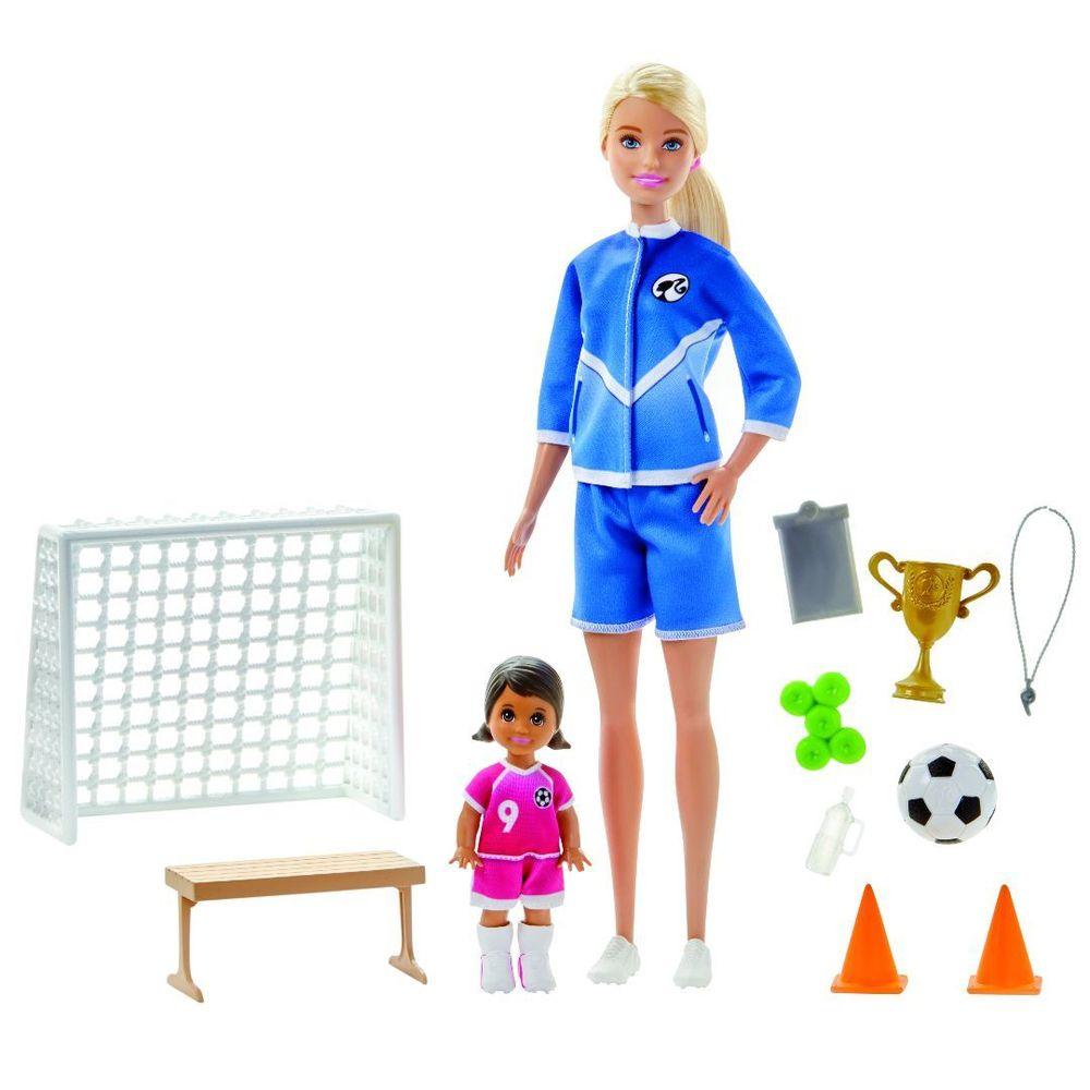 Boneca Barbie - Treinadora de Futebol - Mattel