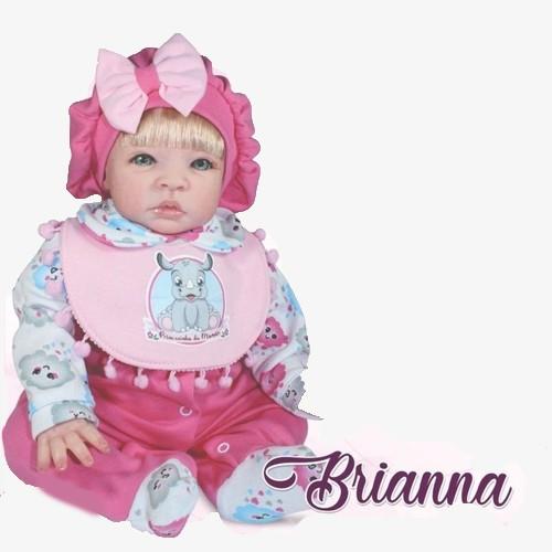 Boneca Bebê Reborn - Coleção Doll Realist - Brianna - Sid-Nyl