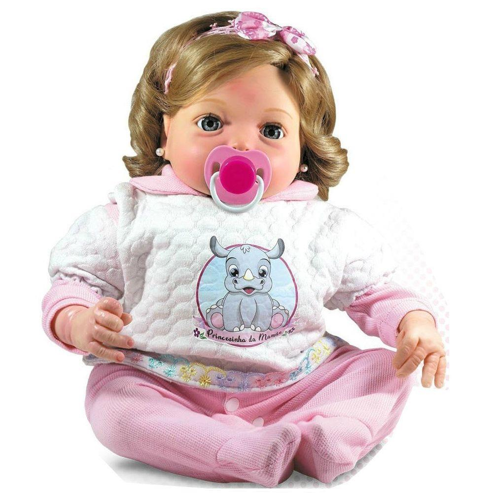 Boneca Bebê Reborn - Coleção Doll Realist - Yasmin - Sid-Nyl