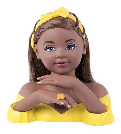 Boneca Charmosa - Negra - Cotiplás