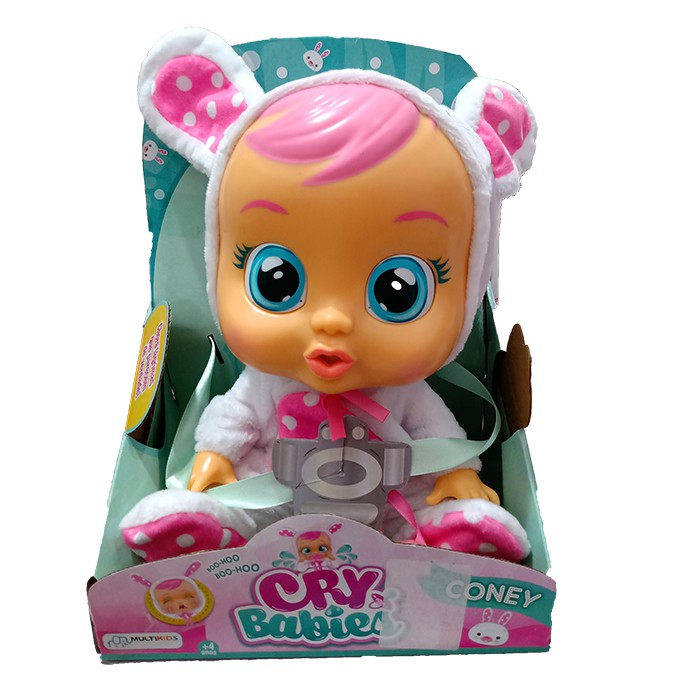 Boneca Cry Babies - Sons e Lágrimas de Verdade - Coney - Multikids