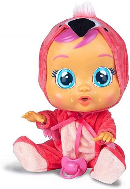 Boneca Cry Babies - Sons e Lágrimas de Verdade - Flamy - Multikids