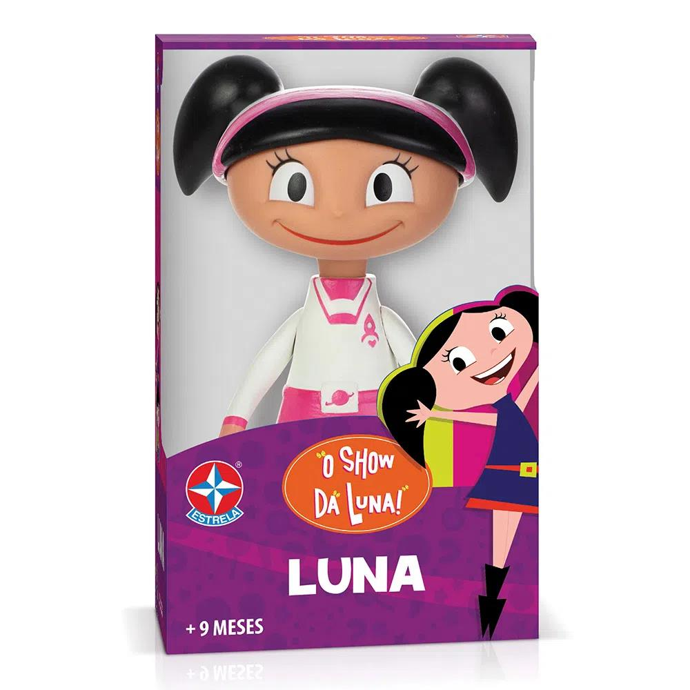 Boneca de Vinil - O Show da Luna - Luna Astronauta - Estrela