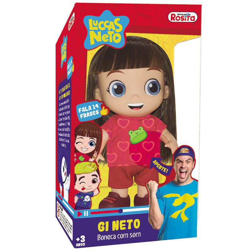 Boneca Gi Neto - Com Som - Rosita